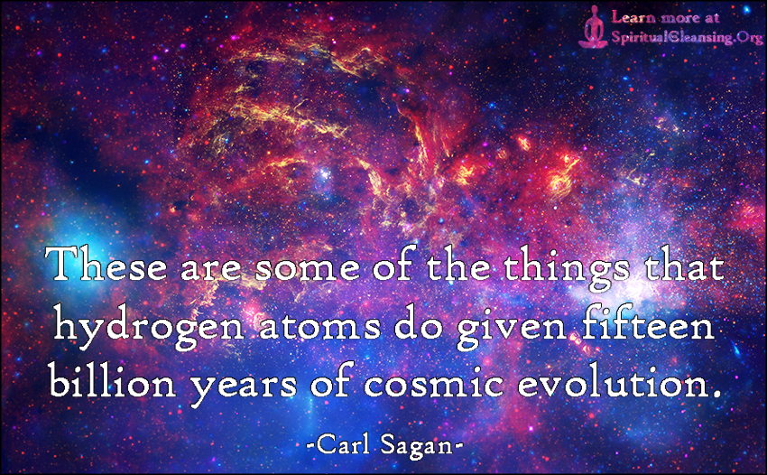 Carl Sagan Love Quote Endearing Carl Sagan  Spiritualcleansing  Love Wisdom Inspirational