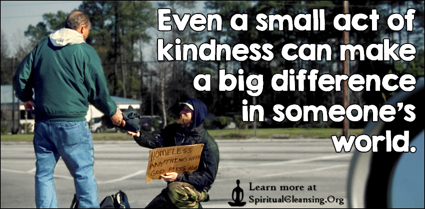 Even a small act of kindness can make a big difference in someone's world.