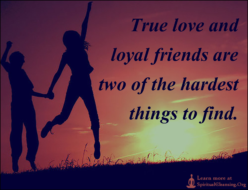 Quotes About True Love And Friendship Best True Love And Loyal Friends Are Two Of The Hardest Things To Find