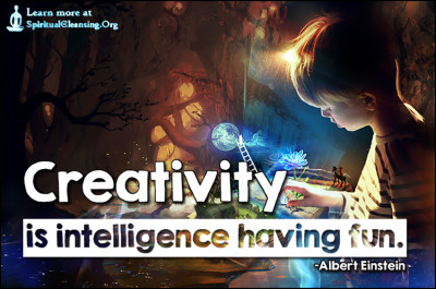 Creativity is intelligence having fun.