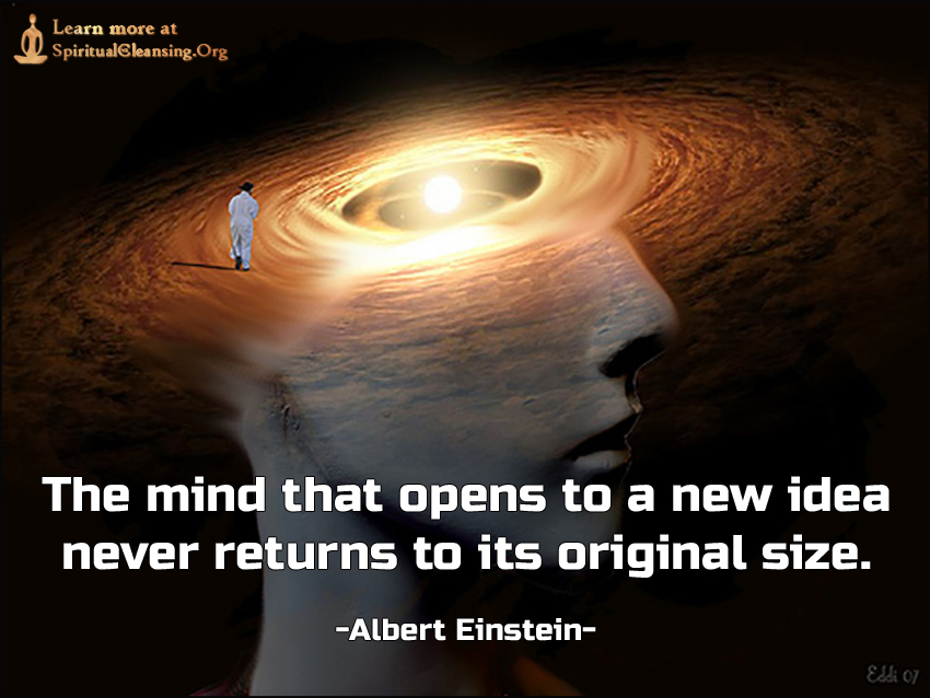 The mind that opens to a new idea never returns to its original size.