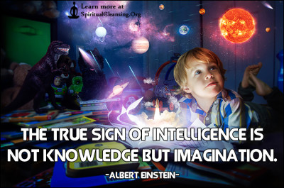 The true sign of intelligence is not knowledge but imagination.