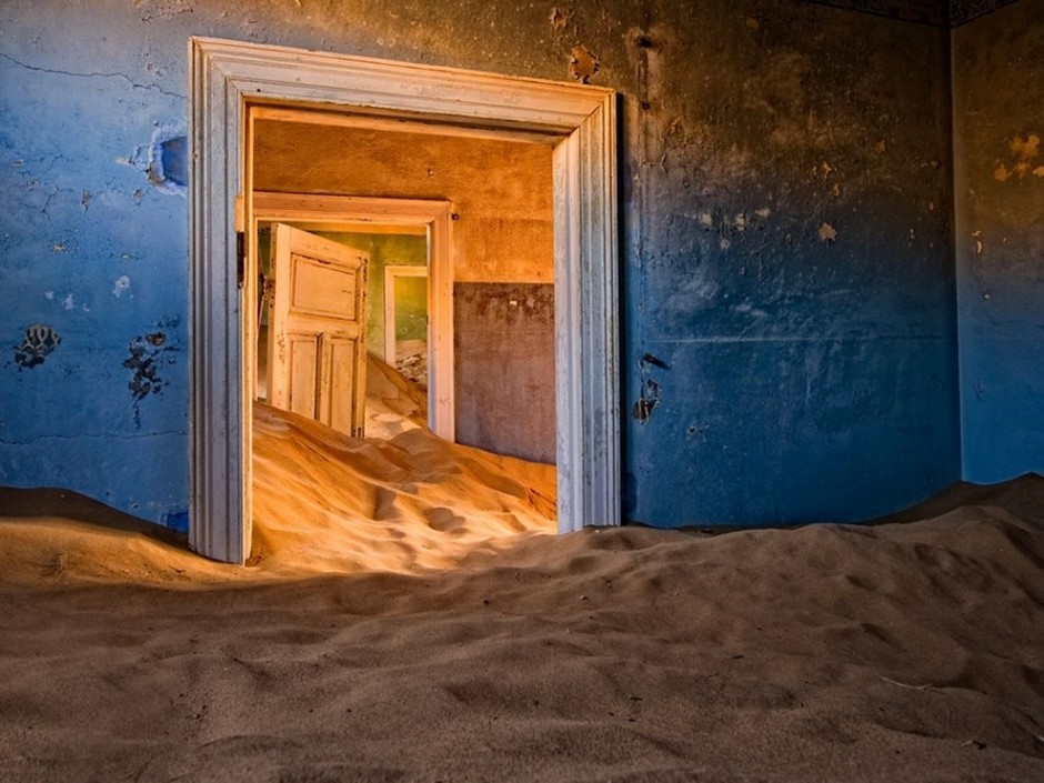 Kolmanskop in the Namib Desert