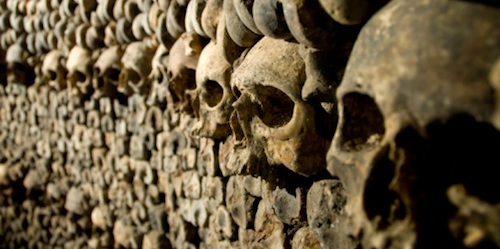 The Mysterious Catacombs In Paris