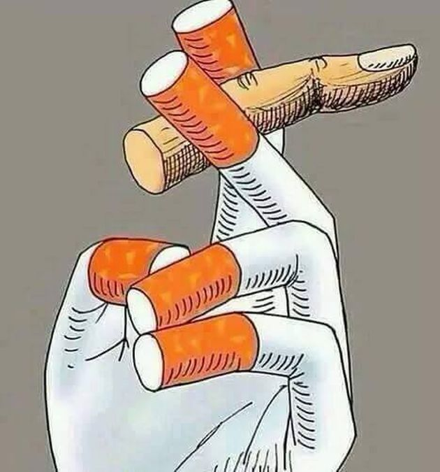 Addicted to smoking
