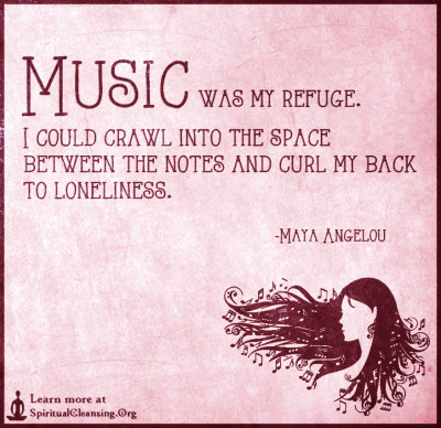 Music was my refuge. I could crawl into the space between the notes
