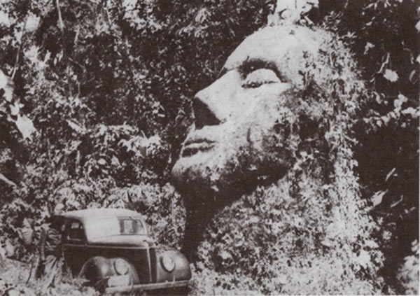 Giant Stone Head – Guatemala