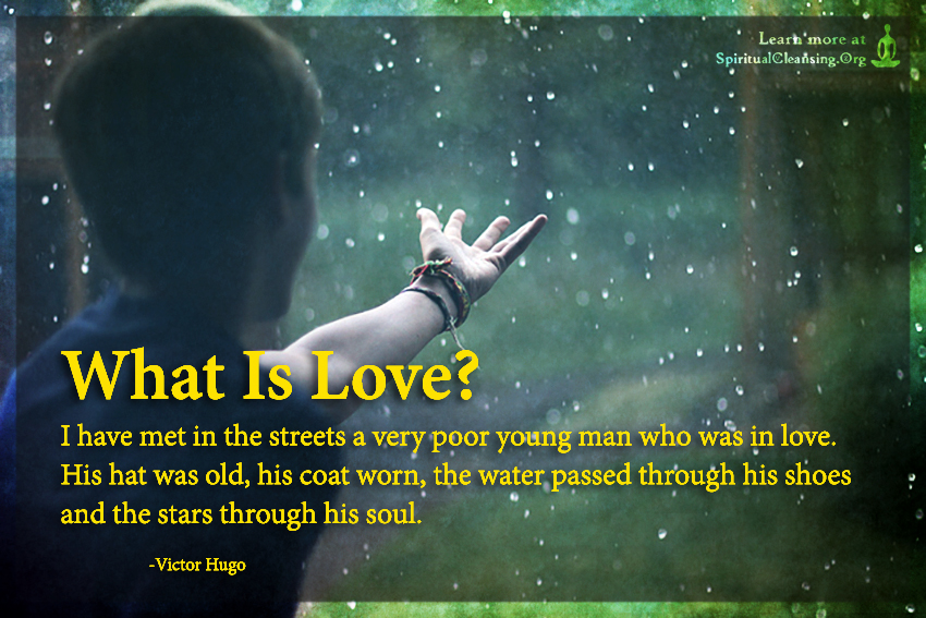 What Is Love - I have met in the streets a very poor young man who was in love.