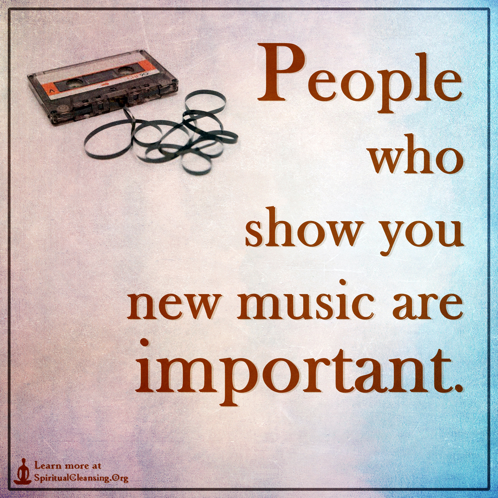 Quotes On The Importance Of Music: People Who Show You New Music Are Important