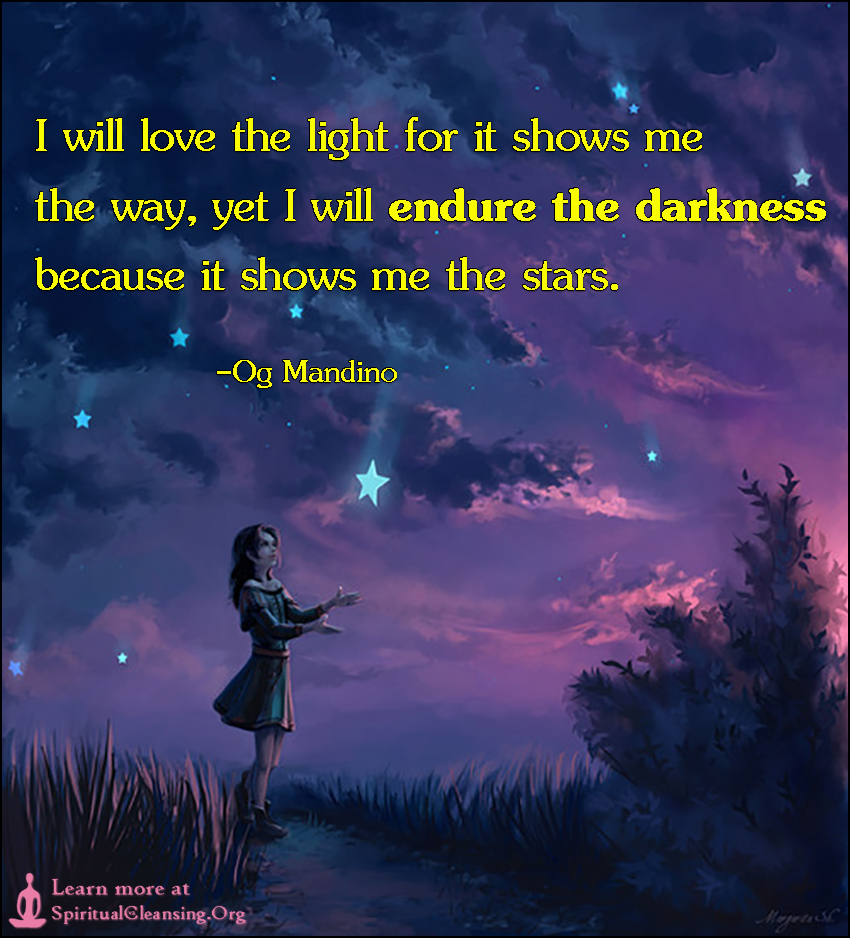 Image result for og mandino quotes i will love the light